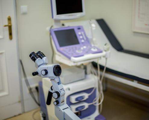 Untersuchungsraum Dr. Med. Univ. Robert Pongratz